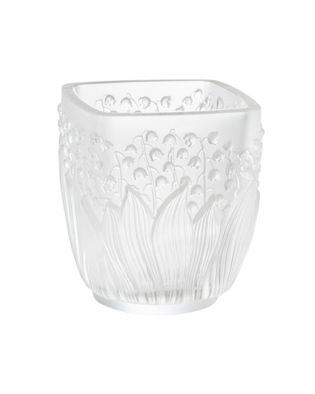 Lalique Clear Muguet Votive