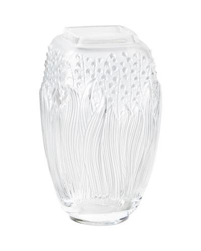 Clear Muguet Vase