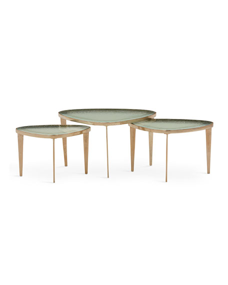 Trio of Jan Bunching Coffee Tables
