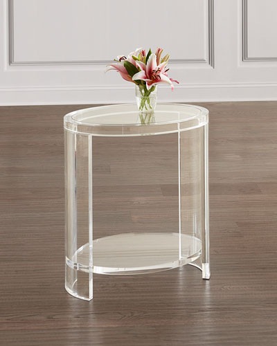 Marcel Acrylic Side Table