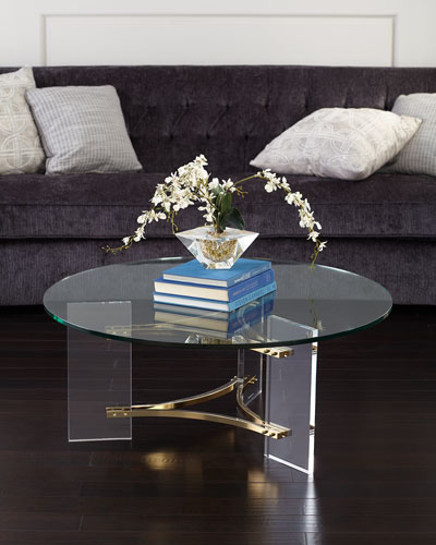 Tamara Acrylic Coffee Table