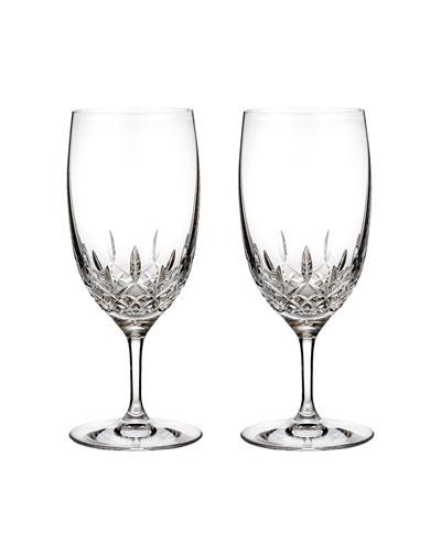 Lismore Essence Iced Beverage Glasses  Set of 2