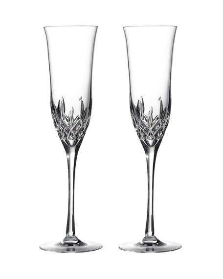 Lismore Essence Champagne Flutes, Set of 2