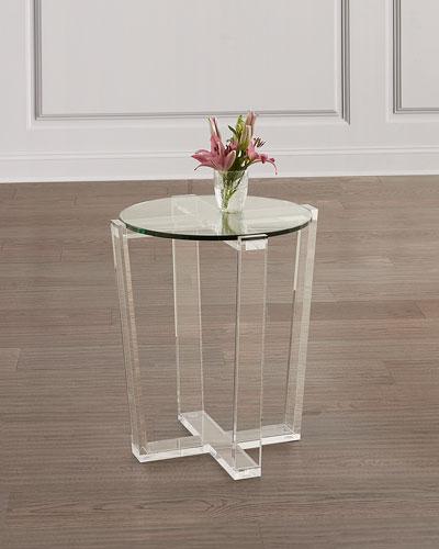 Jean Acrylic Side Table