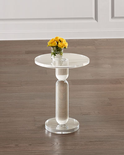 Roland Acrylic Side Table
