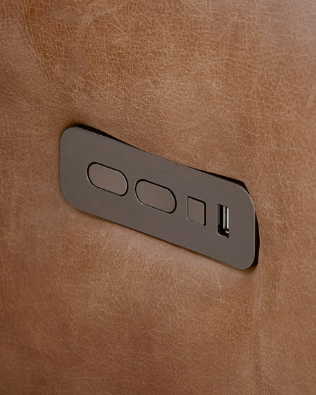 Cosmo Leather Power Motion Reclining Sofa