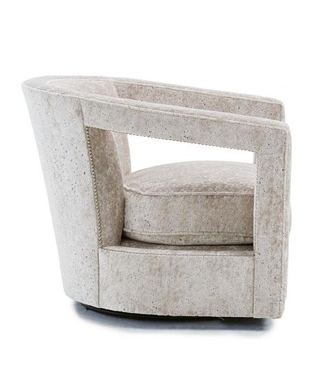 Alana Velvet Accent Chair