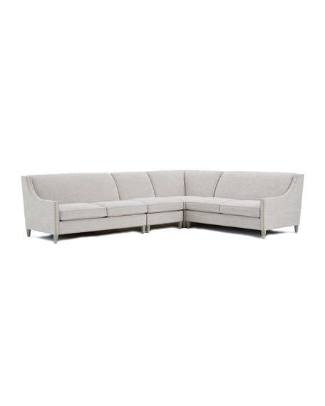 Palisades 4-Piece Chenille Sectional
