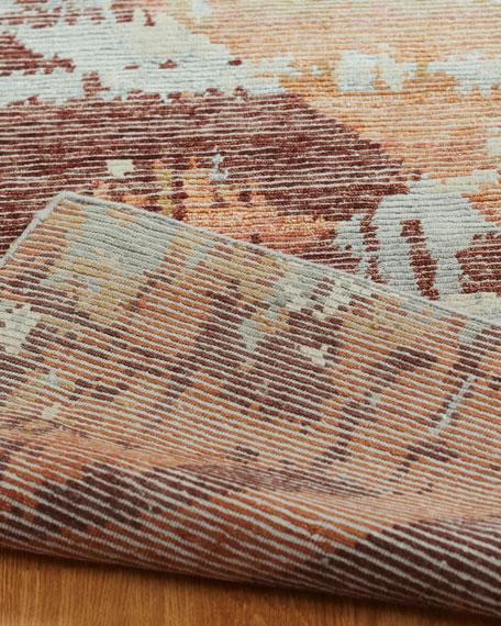 Birdsong Hand-Knotted Runner, 2.6' x 10'