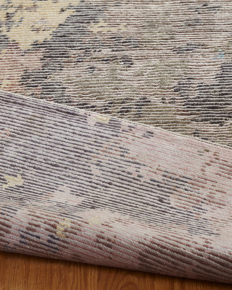 Bellfall Hand-Knotted Rug, 6' x 9'