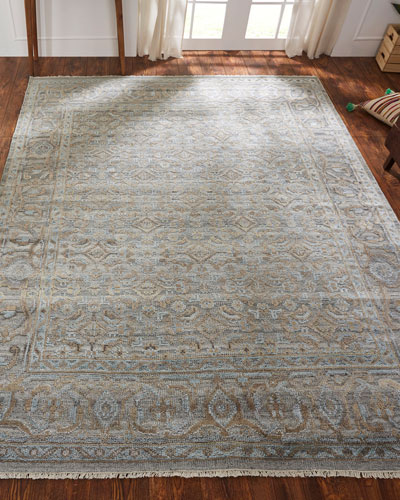 Fable Hand-Knotted Rug  4' x 6'