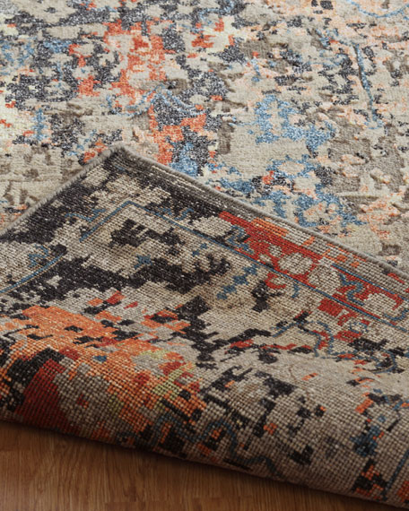 Portola Hand-Knotted Runner, 2.6' x 10'