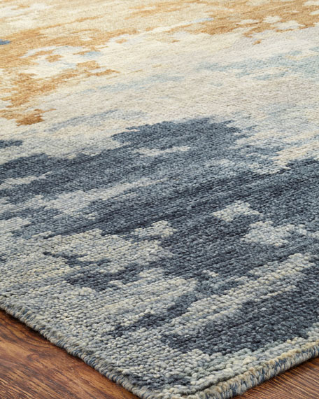 Flywheel Hand-Knotted Rug, 4' x 6'