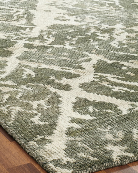 Gales Hand-Knotted Runner, 2.6' x 10'