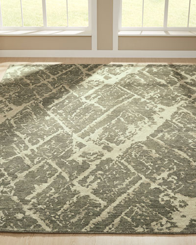 Gales Hand-Knotted Runner  2.6' x 10'