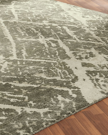 Gales Hand-Knotted Rug, 6' x 9'