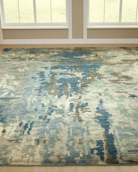 Lambeth Hand-Knotted Rug, 4' x 6'