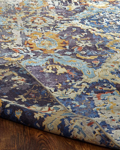 Ravenhill Hand-Knotted Runner, 2.6' x 10'
