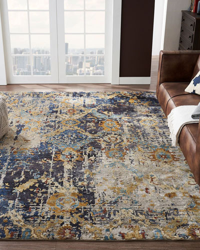 Ravenhill Hand-Knotted Rug  4' x 6'