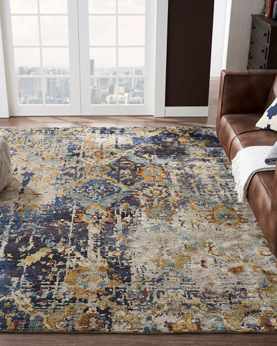 Ravenhill Hand-Knotted Rug  6' x 9'