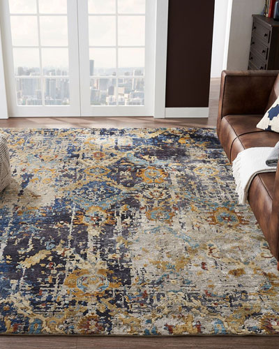Ravenhill Hand-Knotted Rug  8' x 10'