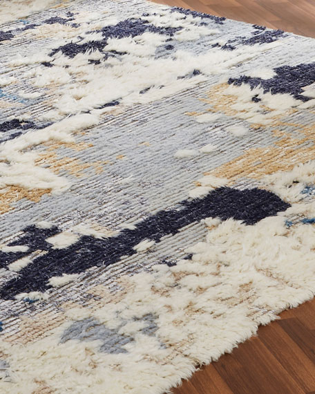 Maypole Hand-Knotted Runner, 2.6' x 10'