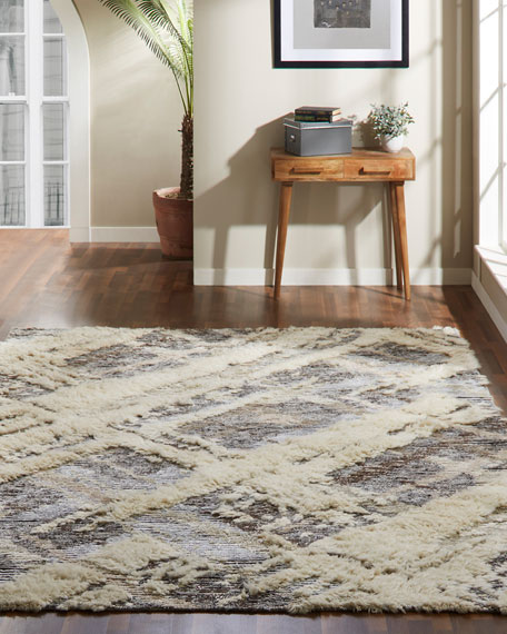Mellen Hand-Knotted Rug, 8' x 10'