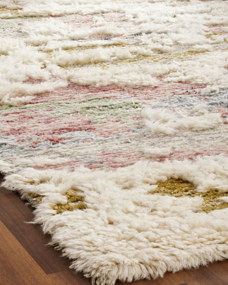 Moonrider Hand-Knotted Runner, 2.6' x 10'