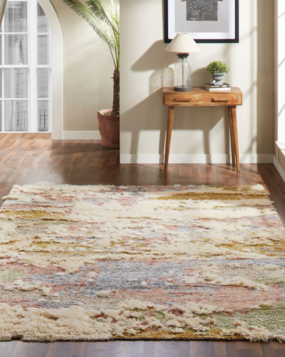 Moonrider Hand-Knotted Rug  6' x 9'