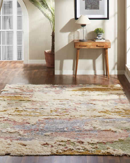 Moonrider Hand-Knotted Rug, 8' x 10'
