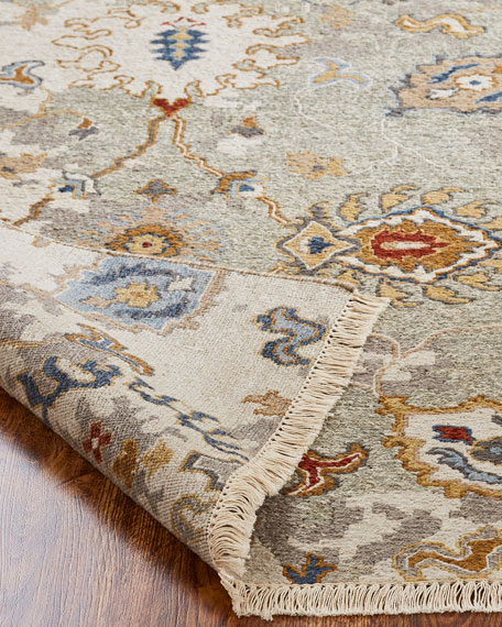 Maiden Soumak Weave Knotted Rug, 8' x 10'