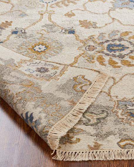 Belden Soumak Weave Knotted Rug, 6' x 9'