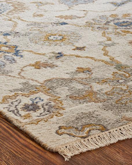 Belden Soumak Weave Knotted Rug, 9' x 12'