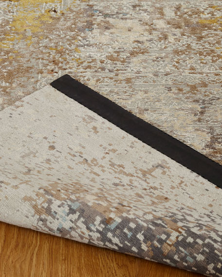 Banneker Hand-Knotted Rug, 6' x 9'