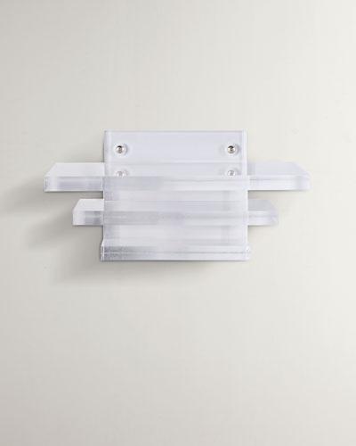 Clear Lucite Shelf