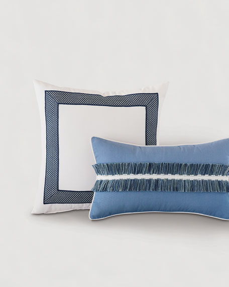 Blue Tape Pillow