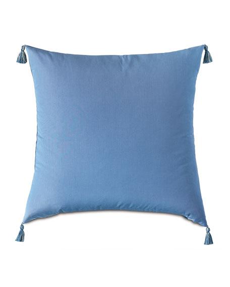 Wicking Indigo Floor Pillow