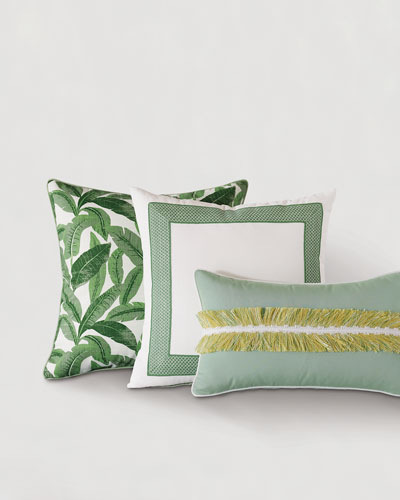 Mint Tape Pillow