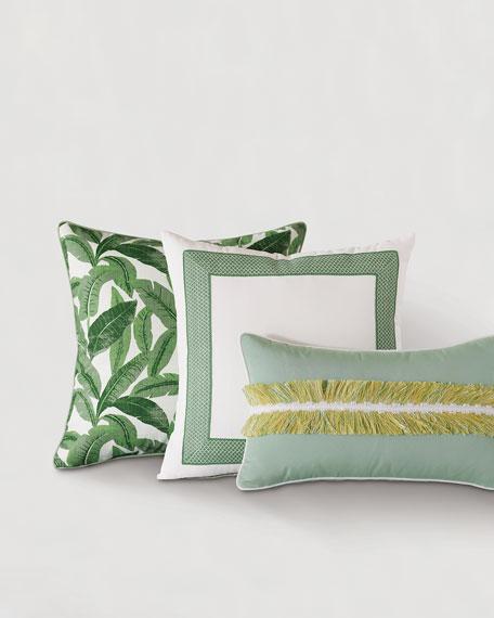 Mint Tape Pillow