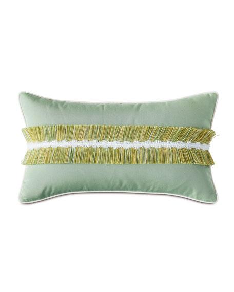 Sabal Fringe Lumbar Pillow