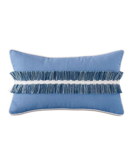 Sky Fringe Lumbar Pillow