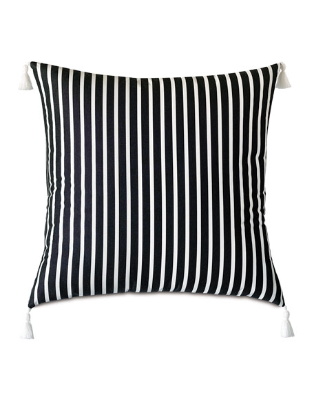 Awning Monochrome Floor Pillow