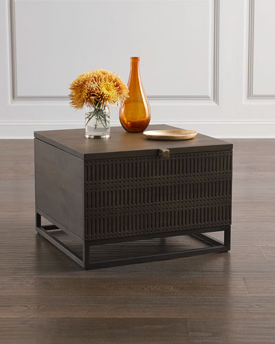 Artisinal Bunching Table with Storage