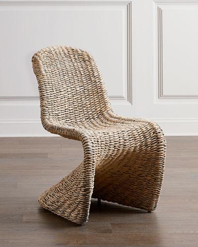 Gaia Wicker Dining Chair