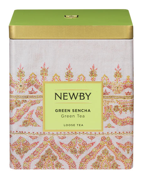 Newby Teas Green Sencha Classic Caddy Collection