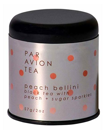 Peach Bellini - Black Tea with Peach + Sugar Sparkles