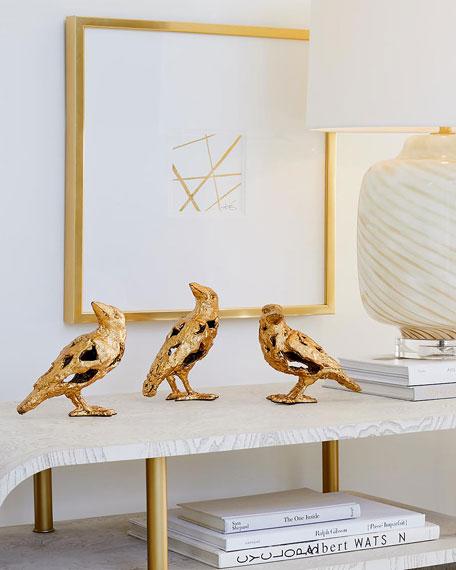 Deconstructed Birds Sculptures, Set of 3