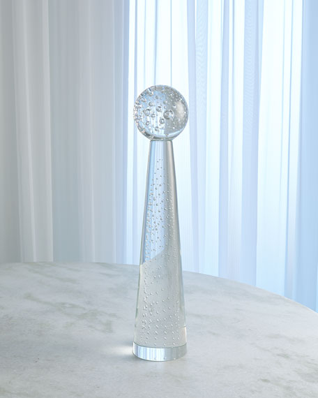Medium Tower Sphere Bubbles Obelisk