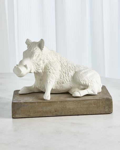 Arete Collection for William D Scott Warthog Sculpture