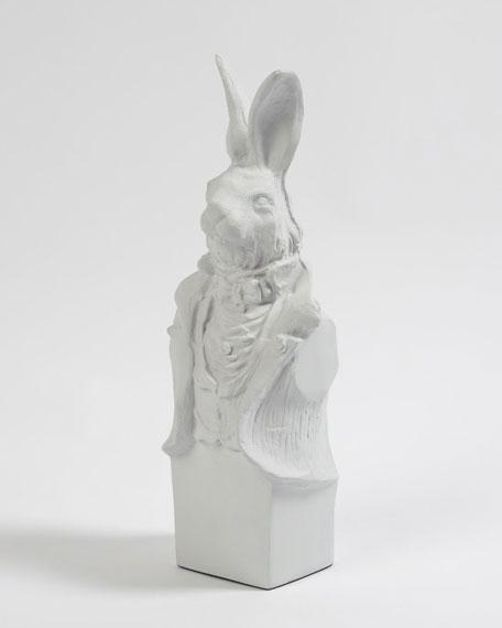 Rabbit in Tux Sculpture